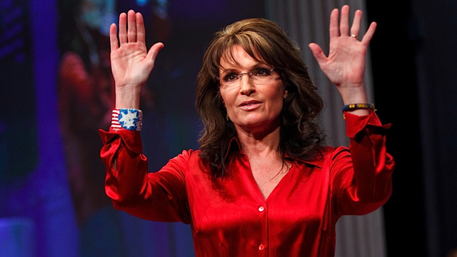 Sarah Palin Totally Doesn't Give a Shit About Game Change