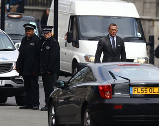 Skyfall Set Photos