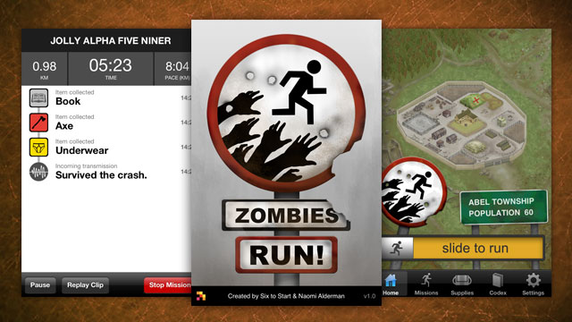 Click here to read Zombies, Run! Turns Your Exercise Routine into a Game of Survival