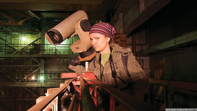 This Girl Snuck Into a Russian Military Rocket Factory