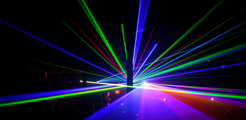 laser show party wallpaper - photo #7