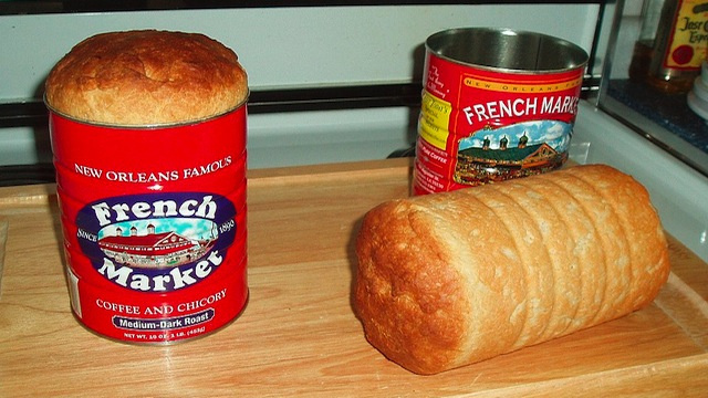 Bake Bread in a Coffee Can for Perfectly Round, Evenly Baked Loaves with Little Crust