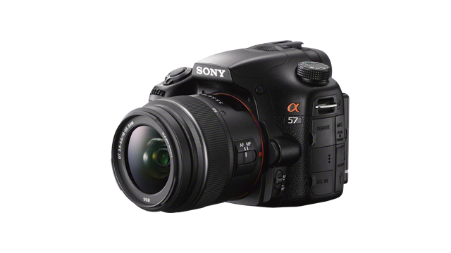 Click here to read Sony Alpha A57: Sony's Budget DSLR Gets A Bigger Body Boost