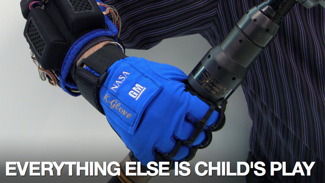 GM, NASA Build Real-Life Power Glove