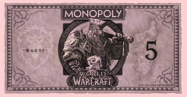 World of Warcraft Monopoly Puts a Fresh Face on Fake Currency