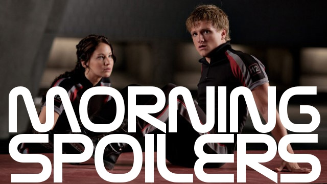 The cast of The Hunger Games reveals all. And do we already know The Walking Dead's big secret?