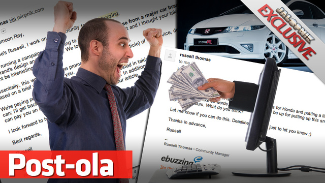 How Honda Pays Bloggers To Write About Their Cars