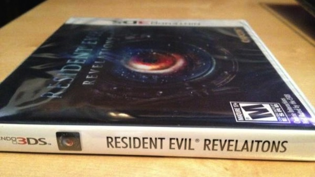 Capcom Says Resident Evil: Revelations Spelling Error Was 'Embarrassing'