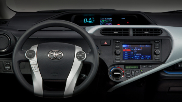 What's The Strangest Digital In-Car Display?