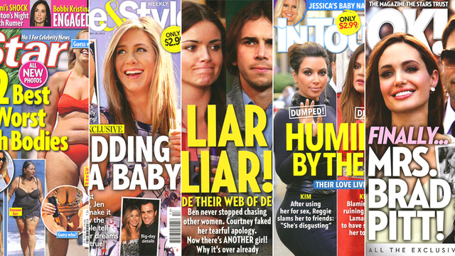 This Week In Tabloids: Kanye Kourts Kim Kardashian For Both Bed and Business Purposes