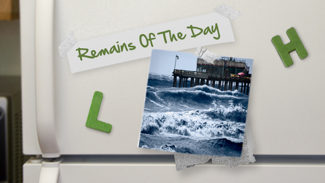 Click here to read Remains of the Day: Rough Seas for The Pirate Bay?