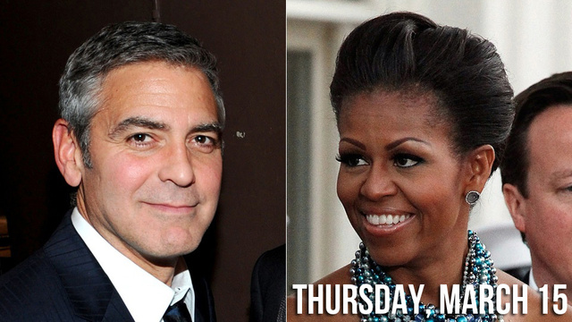 Sexual Black Widow Michelle Obama Catches George Clooney in her Presidential Web
