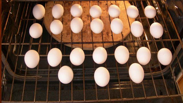 Make Better Hard-Boiled Eggs By Baking Them in The Oven, Not Boiling Them