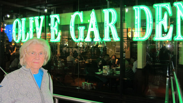 Is Fame Driving Elderly Olive Garden Critic to Madness?