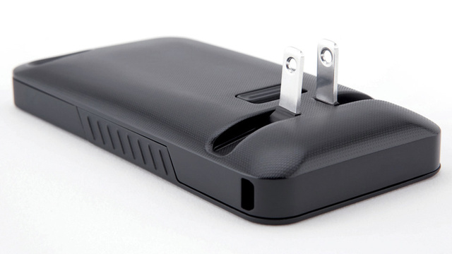 Charge Your iPhone Anywhere With This Case's Built-in Plug