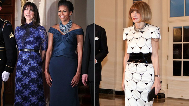 Michelle Obama Invites Fundraising Artist Anna Wintour to State Dinner