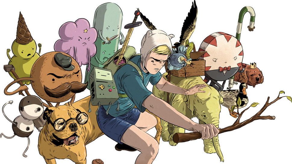 Realistic <em>Adventure Time</em> art ranges from supercute to soul-crushing