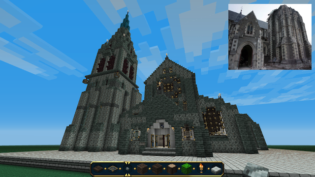 Click here to read An Earthquake Doomed His Church, So He Rebuilt It In <em>Minecraft</em>