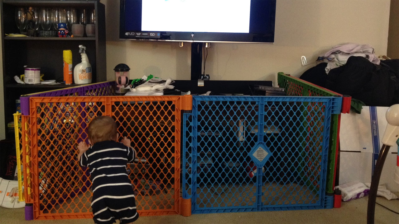 Baby-Proofing Tips for Gamers: