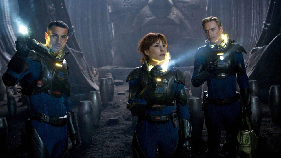 Ridley Scott and the cast of <em>Prometheus</em> talk the film's human-like androids and <em>Alien</em>'s influence