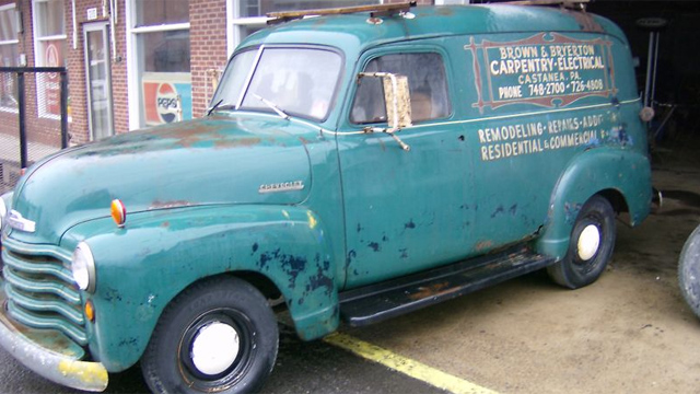 Click here to read Barn Find Chevy Panel Truck Is An Amazing Original