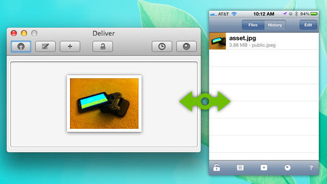 Click here to read Deliver Shares Messages and Files Between Your Macs and iPhones (or Other iDevices) Almost Instantly