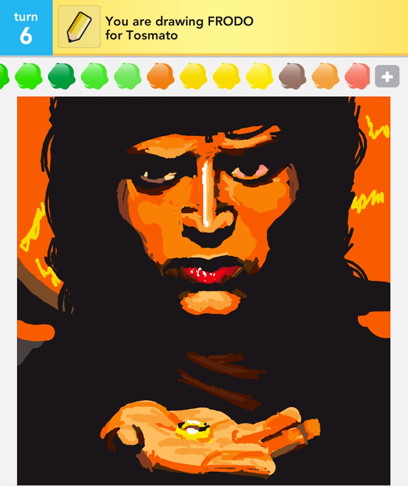 Kotaku reader is the most amazing draw something artist i for Awesome draw something pictures