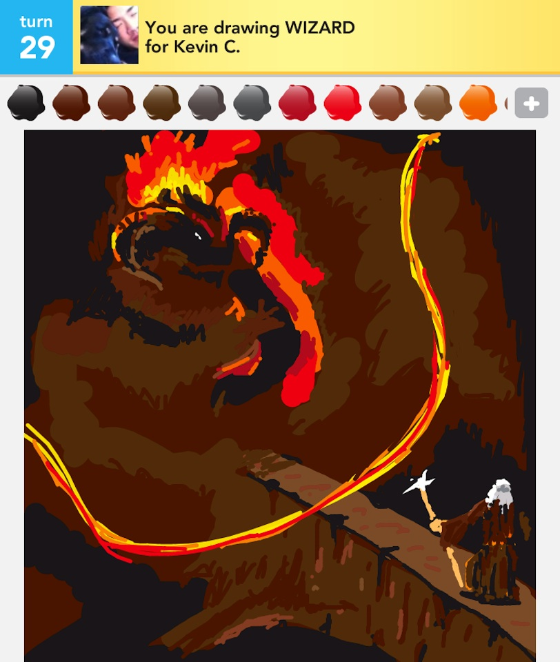 Lord Of The Rings Characters Draw Something