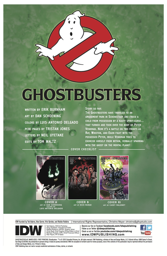 Your Monday Comic Preview Doubleheader: G.I. Joe and Ghostbusters