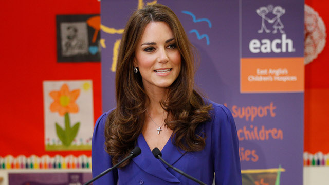 The Duchess of Cambridge Opens Her Mouth