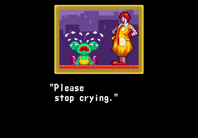 The Horror, the Glory of Treasure's Ronald McDonald Video Game