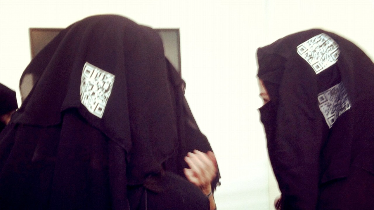 Click here to read The New Worst Place for QR Codes: Burqas