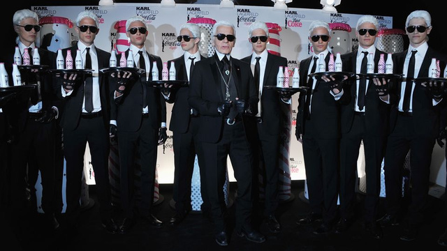 Karl Lagerfeld Doesn't Drink Water — Just Diet Coke