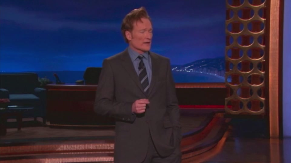 Click here to read Watch Conan Relentlessly Jab Apple Around the iPad Launch