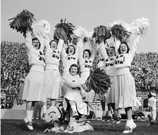 Cheerleading's Manly Beginnings