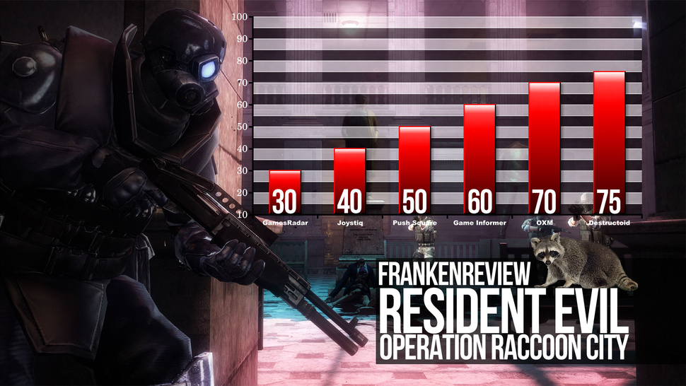 Game Critics Raid the Garbage of <em>Resident Evil: Operation Raccoon City</em>