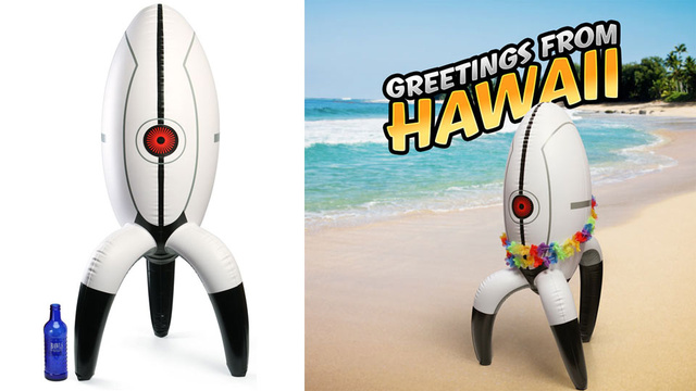 The Life-Size Portal 2 Inflatable Sentry Turret is Now Available for All Your Home Security Needs