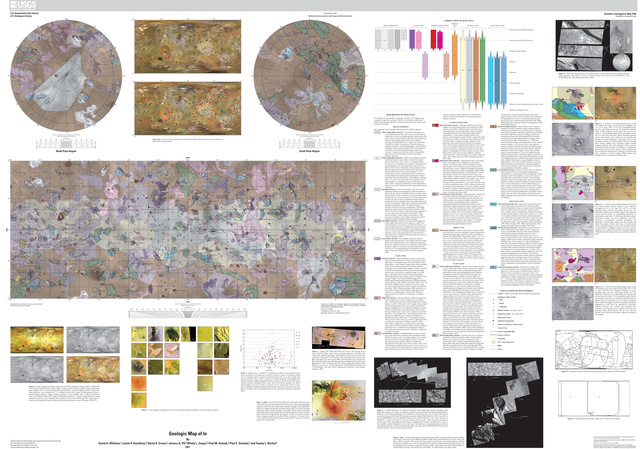 Behold, the first-ever geologic map of volcanic moon Io