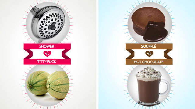 March Madness: Could This Be the Sex vs. Chocolate Upset?