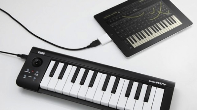 Click here to read Korg's Latest Keyboards Connect Directly to the iPad