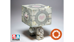 The First Valve x threeA Toy is This Adorable Companion Cube