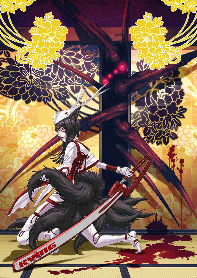 The Sexy, Sword-Swinging Art of Yusuke Kozaki