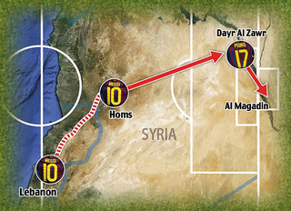 Are Messi And Barcelona Sending Secret Messages To Help Rebels Smuggle Guns Into Syria?