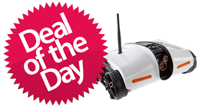 This Wireless Spy Tank is your Spy-On-Everyone-No-Matter-Where-They-Go Deal of the Day