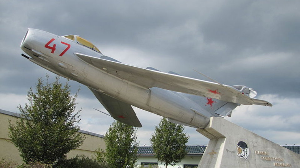 Click here to read The Many Monuments to Russia's Beloved MiG