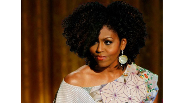 If Michelle Obama Had Natural Hair…