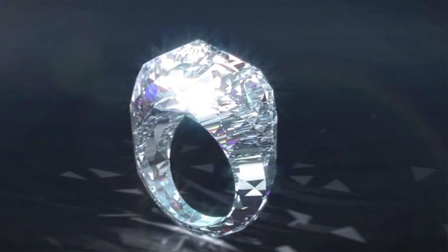 If He Loves You, He'll Buy You the World's First All Diamond Ring