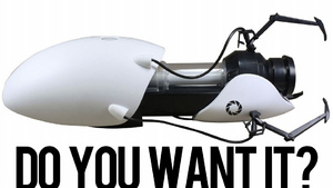 Pre-Order Your Portal Gun. Right Now!