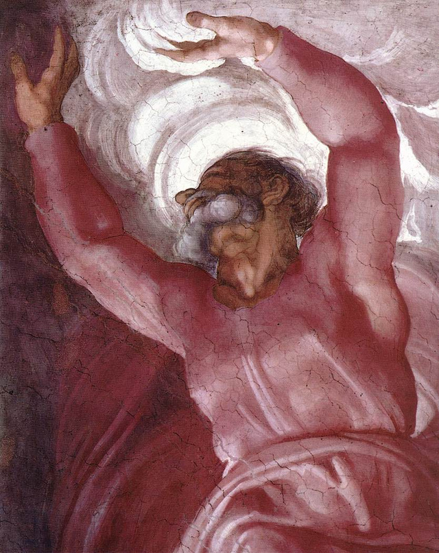Did Michelangelo Draw a Brain on God in the Sistine Chapel?