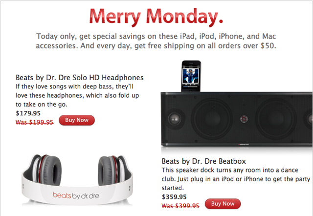 Apple's Cyber Monday Sale: Accessories For Very Slightly Less